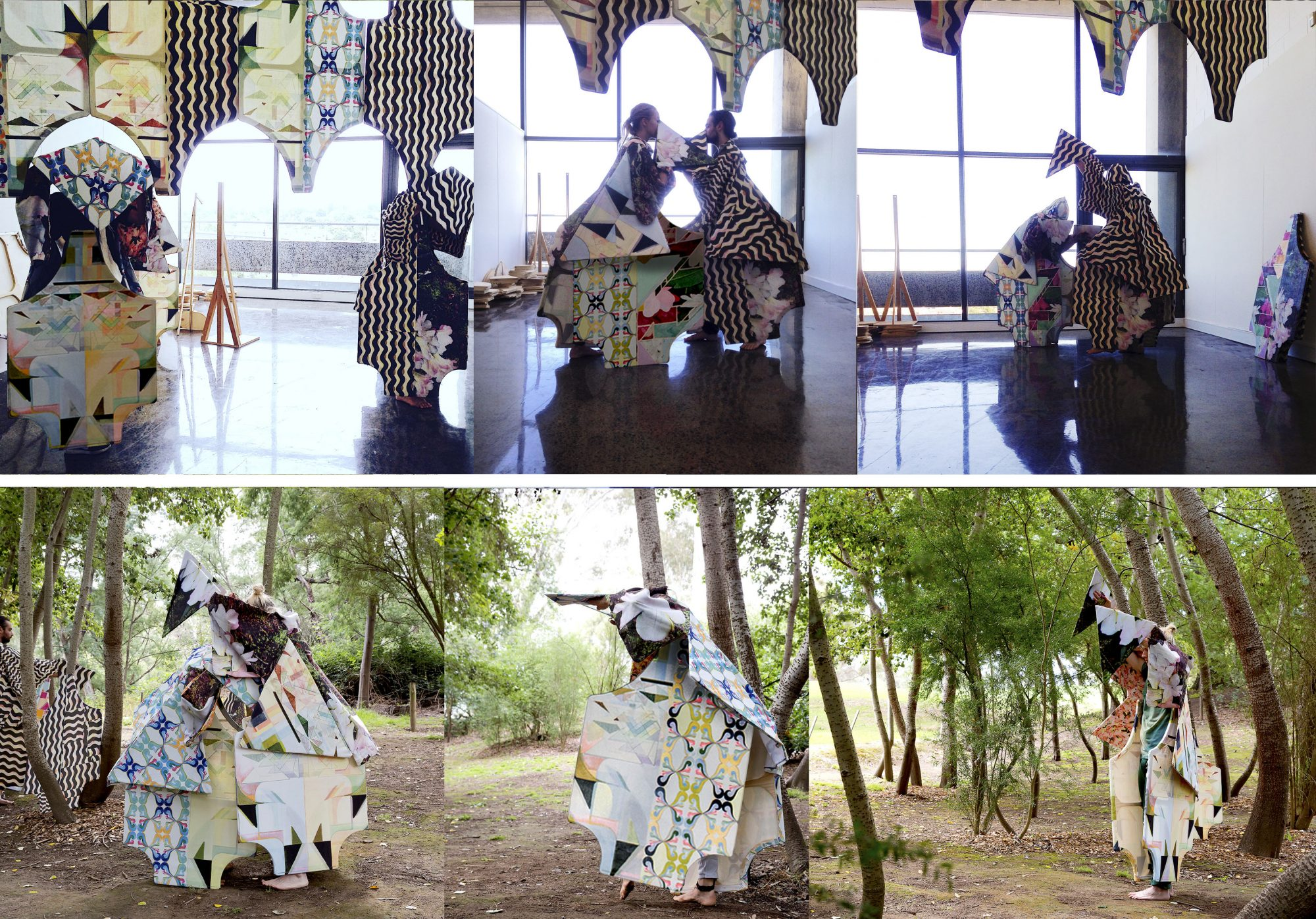 Belle Bassin, artwork, performance, moving sculpture, dance, performance