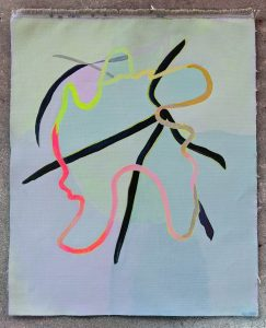 Contemporary art, contemporary painting, belle bassin.